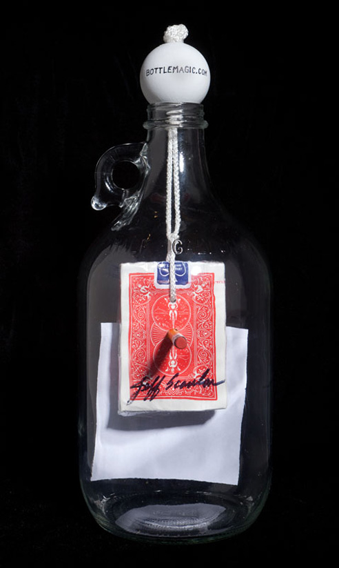 Bottle Magic Sweepstakes prize: Back view