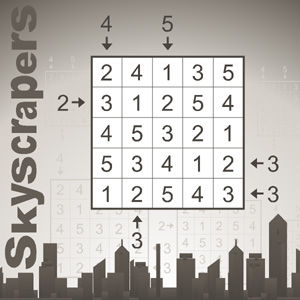 Skyscrapers: New Conceptis puzzle will make you think differently about skylines