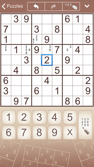Sudoku for iPhone and iPad (iPhone)