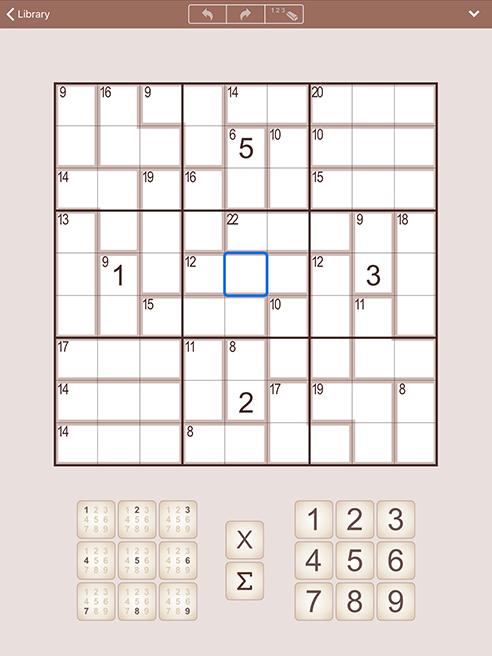 SumSudoku for iPhone and iPad (iPad)