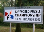 Official WPC 2003 sign