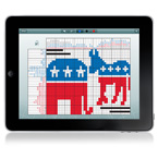 20 Pixel-Puzzles For iPad to Honor US Presidential Election 2012