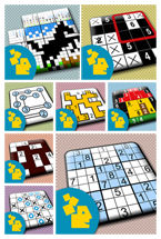 Conceptis Puzzle App Collection Refreshes Look-and-Feel for iOS 7