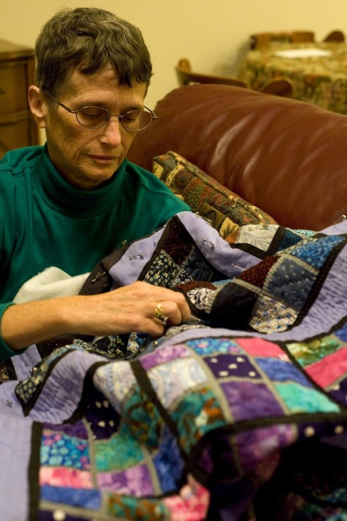 Sudoku quilting mom by dshaboy