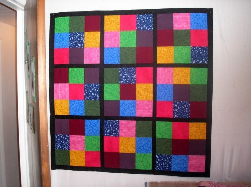 Sudoku quilt top by thefinderofthings
