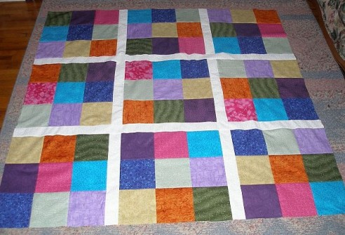 Sudoku mystery quilt by ktattershall