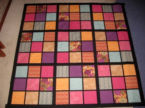 Sudoku quilt by hearge