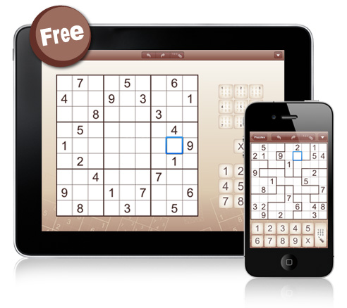 6 Addictive Sudoku Variations for iPad and iPhone