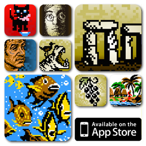 From Famous Landmarks to Under the Sea: 8 Collections of Pixel-Art Puzzles for iPad and iPhone