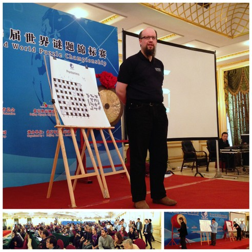 Puzzled in Beijing: Pictures from the 2013 World Sudoku and World Puzzle Championships [The 22nd World Puzzle Championship: Ulrich Voigt, Germany, Champion]