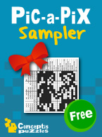 Pic-a-Pix Sampler: Cover