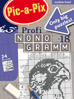 Pic-a-Pix Profi-Nonogramm 18: Cover