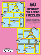 50 Street Traffic Puzzles: Cover