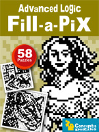 Advanced Logic Fill-a-Pix: Cover