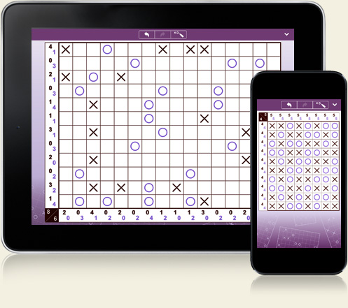 Tic-Tac-Logic for iPhone and iPad