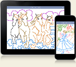 Dot-a-Pix for iPhone and iPad