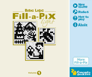 Released: Basic Logic Fill-a-Pix Light Vol 1