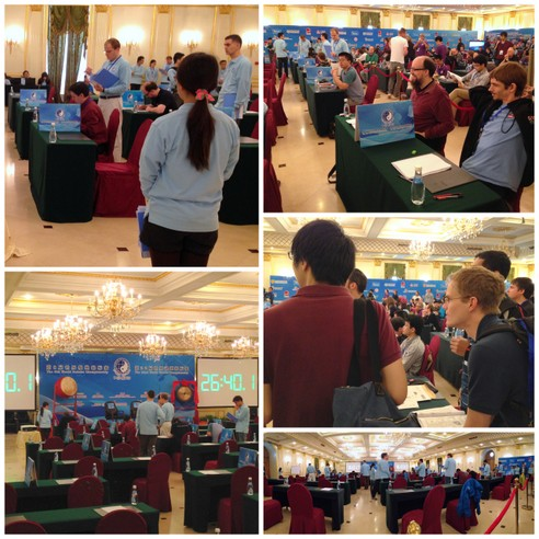Puzzled in Beijing: Pictures from the 2013 World Sudoku and World Puzzle Championships [The 22nd World Puzzle Championship Semi-Final]