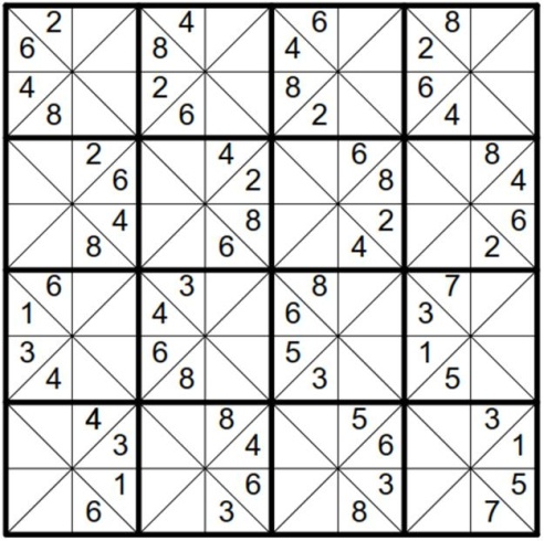 Will Sudoku: Example 3 puzzle