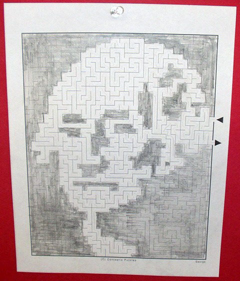 Kathleen Harlow: Maze-a-Pix of Famous Americans