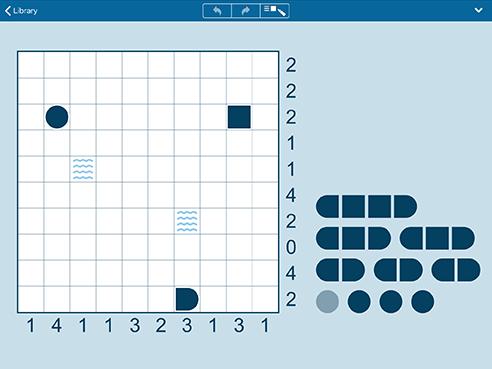 Battleships for iPhone and iPad (iPad)