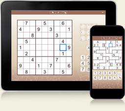 Sudoku for iPhone, iPad and Android