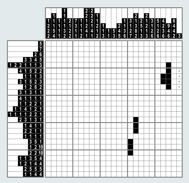 Help with free Pic-a-Pix