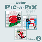 Color Pic-a-Pix Light Vol 2: More Challenging, More Artistic, More Entertaining