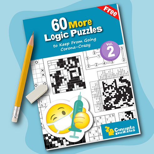60 More Logic Puzzles to Keep from Going Corona-Crazy
