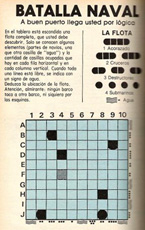 Second version of the Battleship puzzle