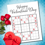 Happy Valentine's Day (w/Puzzles)