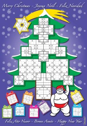 Christmas Sudoku.Christmas Tree Sudoku A Puzzle Celebration With 15