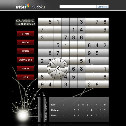 msn launched silverlight based sudoku in singapore malaysia