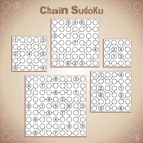 Chain Sudoku: A new twist on the world's most popular puzzle