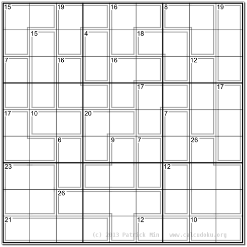 picture regarding Printable Kenken Puzzles 9x9 identify The 10 Most difficult Logic Puzzles At any time Manufactured