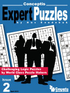 Conceptis Expert Puzzles 2: Cover