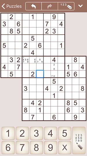 MultiSudoku for iPhone and iPad (iPhone)