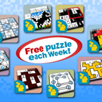 Free Weekly Puzzles Now Available on Conceptis' iPhone and iPad Apps