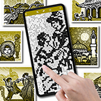 Huge Fill-a-Pix Tablet Puzzles Now Playable on iPhone and Android Smartphones