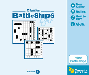 Released: Classic Battleships Light Vol 1