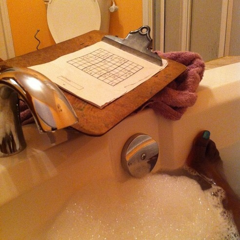 BUBBLE BATH SUDOKU - 21 Inspiring Sudoku Moments Captured by Instagramers #2
