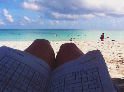 CUBAN BEACH SUDOKU - 21 Inspiring Sudoku Moments Captured by Instagramers #4