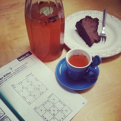 HERB TEA AND CAKE SUDOKU - 21 Inspiring Sudoku Moments Captured by Instagramers #8