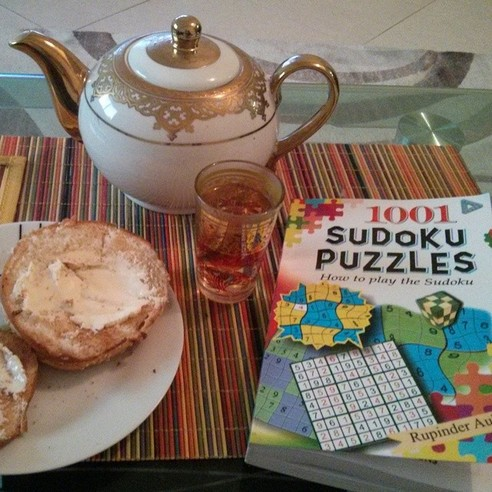 MEDITATION TEA SUDOKU - 21 Inspiring Sudoku Moments Captured by Instagramers #9