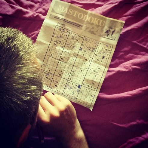GENIUS HUSBAND SUDOKU - 21 Inspiring Sudoku Moments Captured by Instagramers #15