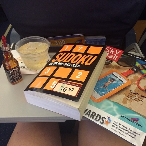 JACK DANIELS FLIGHT SUDOKU - 21 Inspiring Sudoku Moments Captured by Instagramers #19