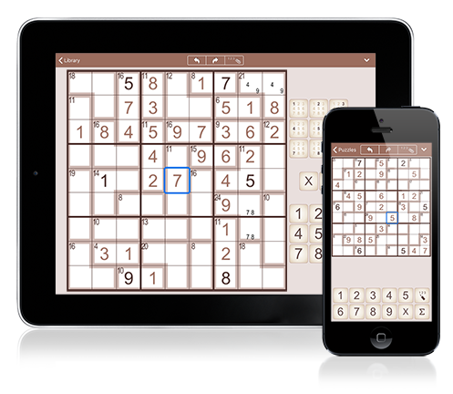 New: SumSudoku for iPhone and iPad