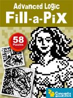 Advanced Logic Fill-a-Pix: Cover