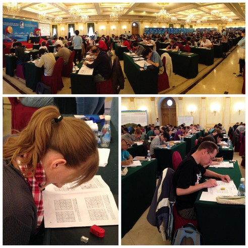 Puzzled in Beijing: Pictures from the 2013 World Sudoku and World Puzzle Championships [The 8th World Sudoku Championship 2013]