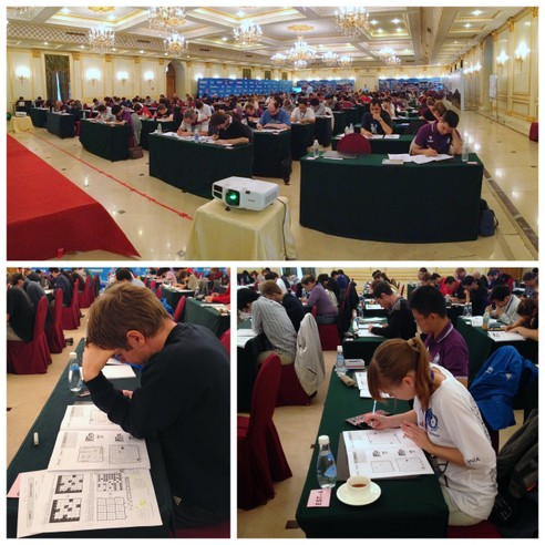 Puzzled in Beijing: Pictures from the 2013 World Sudoku and World Puzzle Championships [The 22nd World Puzzle Championship]